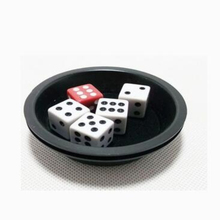 Party Magic Magical Dices Conjuring Game Trick Play Props Training Set - Super Fly Disc Dice magic tricks(China)