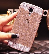 Luxury Glitter powder Rhinestone bling Diamond with Crystal Handmade Hard PC Case Cover for SamsungS3 S4 S5 S6E S7E S8P N3 N4 N5