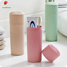 Protable Outdoor Travel Toothbrush Storage Box Holder Tooth Mug Toothpaste Towel Cup Organizer Bath For Camping Travel Holidays(China)