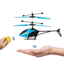 Fantastic New Fashion Infrared Induction Drone Flying Helicopter Aircraft Child Kid Toy Gesture-Sensing Use RC USB Charging(China)