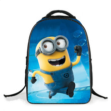 minion bag despicable me backpack school bags for boys minions 2017 cute book bag waterproof nylon fabric children backpacks