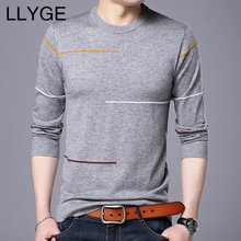 Buy LLYGE Men O-Neck Wool Sweater 2018 Autumn Winter New Slim Fit Warm Knitted Pullover Men Casual Cashmere Sweaters Tops Plus Size for $14.72 in AliExpress store