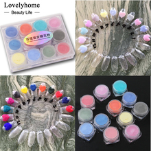New Transparent Nail Art Acrylic Powder Temperature Changing Color Carve Dust UV Gel Design 3D Tips Decoration Manicure Tool(China)