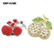 QIFANE 32GB 64G U Disk diamond Jewellery pen drive 4G 8G 16G gift Creative USB Flash Drive crystal memory stick Free shipping