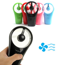Ultra Portable Mini Retractable Stand HandHeld USB/Battery 360 Degree Cooling Fan Electric Personal Fans for Computer Office(China)