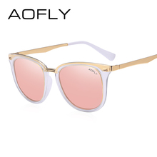 AOFLY Fashion Women's Polarized Sunglasses Vintage Women Brand Designer Shades Eyewear Accessories Driving Sun Glasses AF7968(China)