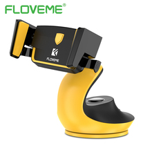 FLOVEME Automatic Lock Adsorption Desk Car Phone Holder For Mobile Phone Tablet PC Swan Design Vehicle Mounted Holder Stand