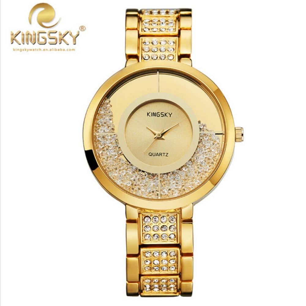 2017 Watch Women Quartz-watch Relogio Feminino KINGSKY Women New Casual Watches Brand Famous Japan Quartz Fashion Reloj Mujer<br>