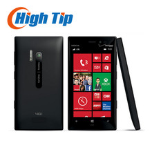 Original Nokia Lumia 928 Unlocked 8.7MP NFC GPS 32GB Dual Core 1.5GHz 4.5 inch Windows OS 3G Cellphone Refurbished