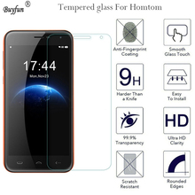 2.5D 9H Tempered Glass For Homtom HT10 HT16 HT3 HT37 Phone Ultra-thin Anti-Scratch Water Protective Film Case Screen Protector(China)