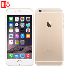 "Unlocked Apple iPhone 6 / 6 plus 4.7 & 5.5"" mobile phones Dual Core 16/64/128GB Rom IOS 8MP Camera 4K video LTE 1080P smartphone"