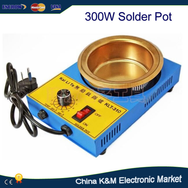 Lead-free KLT-310 import of stainless steel melting furnace the rmostat solder pot 41C 300W<br>