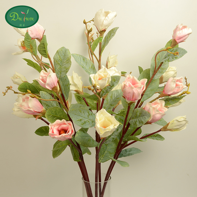 10pcs high-end European single Zhiyu simulation flower orchid hotel decoration flower gifts customized manufacturers(China (Mainland))