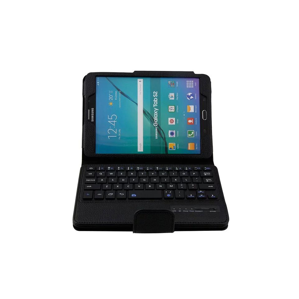 For Samsung Galaxy Tab s2 8.0 T710 T715 case Removable Wireless Bluetooth Keyboard cover for samsung galaxy tab sm-T710 SM-T715<br>