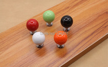Ceramic Kitchen / Bedroom Furniture Hardware Furniture Fittings Handles and Knobs
