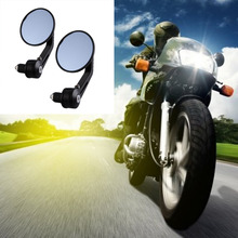 Hot Sale Motorcycle Mirror Aluminum Rear view Mirror End Motor Mirror Motorcycle Accessories 22mm(China)