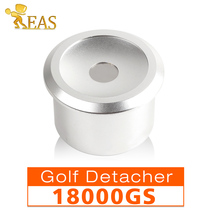 Golf Detacher Security Golf Tag Detacher EAS Tag Remover Magnetic Intensity 18000GS Color Silvery Removers LARGE HARD TAGS(China)