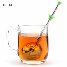 304 Stainless Steel Tea balls Tea Leaf Strainer Filter Infuser Mini Herb Tea Strainer Filter Tea Accessories Tools(China)