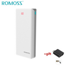 Buy ROMOSS 20000mAh Pover Bank Dual USB Port LED Powerbank Charger Fast Charging Power Supply Mobile Phones External Battery for $39.99 in AliExpress store