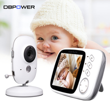 DBPOWER Baby Monitor Infant 2.4GHz 3.2'' LCD Display Wireles Babysitter Digital Video Baby Camera Audio NightVision Babymonitor(China)