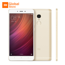 "Xiaomi Redmi Note 4 3GB RAM 32GB ROM Mobile Phone MTK Helio X20 Deca Core 5.5"" FHD 4100mAh 13MP Camera Fingerprint ID Original"