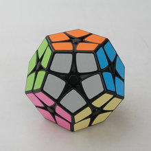 Shengshou Magic cube Speed Puzzle 2x2 Megaminx Speed Cube Dodecahedron Brain Teaser Kids Toy White And Black Toys TP014