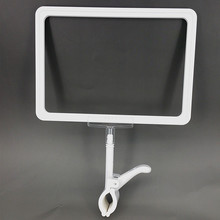 POP A4 Plastic Sign Price Paper Frame Clip Holder Color Available ABS Supermarket Retail Promotion Displays 200 sets