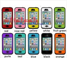 by dhl or ems 20 pcs Cover for iPhone 4 4s Original Redpepper Water/Shock/Dirt/Snow Proof Watertight Diving Underwater Case