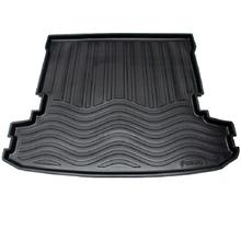 special for Mitsubishi Pajero dedicated trunk mats trunk mat after mat -dimensional positions odor waterproof high-side