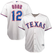 MLB Men's Texas Rangers Rougned Odor Baseball White Home Cool Base Player Jersey(China)