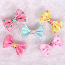 10 Piece/lot Cute Love Printing bobby pin Dog Bows Useful Dog Hair Accessories Dog Hair Bows Dog Headdresss Pet Supplies PY357
