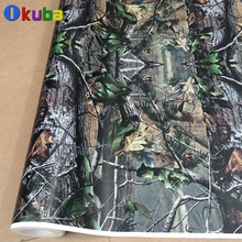 New Arrival Mossy Oak Graphics Camo Vinyl Decals Truck Wraps Full Body Car Sticker Real tree Camouflage Vehicle Wrap 30m/roll