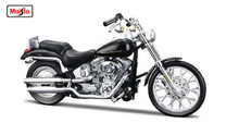 Maisto 1:18 Harley 2000 FXSTD SOFTAIL DEUCE Assembly DIY MOTORCYCLE BIKE Model Kit FREE SHIPPING