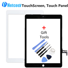 Cheap Touch Screen Digitizer Front Touch Panel Glass Lens for iPad Air/5 TP TouchScreen Replacement Spare Parts + Repair Tools