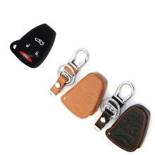 Car key case cover for Jeep wrangler grand cherokee compass Chrysler 200 300 Aspen PT Cruiser Sebring Dodge Durango Avenger