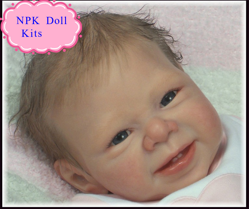 Retail Good Price 22inch Reborn Baby Doll Kits Made By Soft Silicone Vinyl Safe Material Hot Welcome Doll Acceories Doll Kits<br>