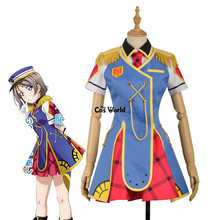 Love Live Sunshine Aqours Happy Party Train Nyamazing Watanabe You Uniform Dress Coat Shirt Outfit Anime Cosplay Costumes