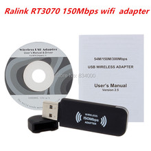 10pcs Ralink rt3070 150Mbps IEEE 802.11n Wireless Wifi USB Network Networking Lan Card Adapter Free Shipping China post