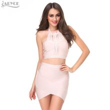 ADYCE 2018 winter new sexy bodycon career package hip Slim stretch wrap pencil bandage skirts party prom casual skirt wholesale(China)