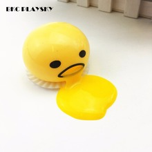 1 piece Novelty Magic Egg Tricky Toy Gudetama antistress slime eggs Fun toys For Kid or adult Gift Gadget(China)