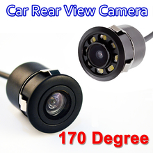 Mini Waterproof Car Parking Assistance Reversing Back Rear View Camera, HD CCD Image Sensor Rearview Camera free shipping(China)
