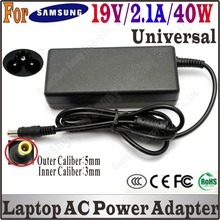 Brand New 19V 2.1A 40W AC Power Adapter Laptop Charger For samsung Q1 Q30 R19 R20 AD-6019 High Quality, Free&Shipping