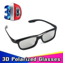 3pcs/lot Light Weight Passive Polarized 3D Sunglasses Glasses for LG for Sony for Samsung Dimensional Anaglyph Movie DVD TV