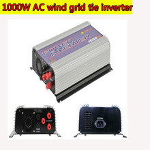 1000W MPPT Pure Sine Wave On Grid Tie Inverter for 3 Phase AC 22-60V/45-90V Wind turbine Wind Grid Tie Inverter with Dump Load