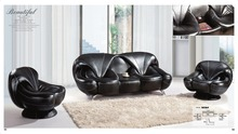 Iexcellent  modern design genuine leather sectional sofa,sofa set living room furniture leather sofa 1+2+3   sofa set