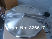 Heavy Duty 600mm Manway, Non-pressure SS304 Stainless Steel Manhole, 100mm Neck
