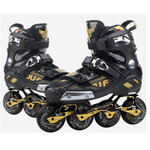 War Wolf Inline Slalom Skate Adult's Roller Skating Shoes Inline Skates Professional Patines For Street Free Skating Sliding(China)