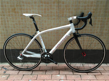 Kalosse 2*9S carbon road bicycle Hot selling carbon fiber road bike 47/50/52/54/56cm bikes frame 18 speed(China)