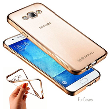 Cover Case for Samsung Galaxy Note 3 4 5 A3 A5 A510 A7 J1 J3 J5 J7 2015 2016 C5 C7 S6 S7 edge Plus Fashion Luxury Plating Cases