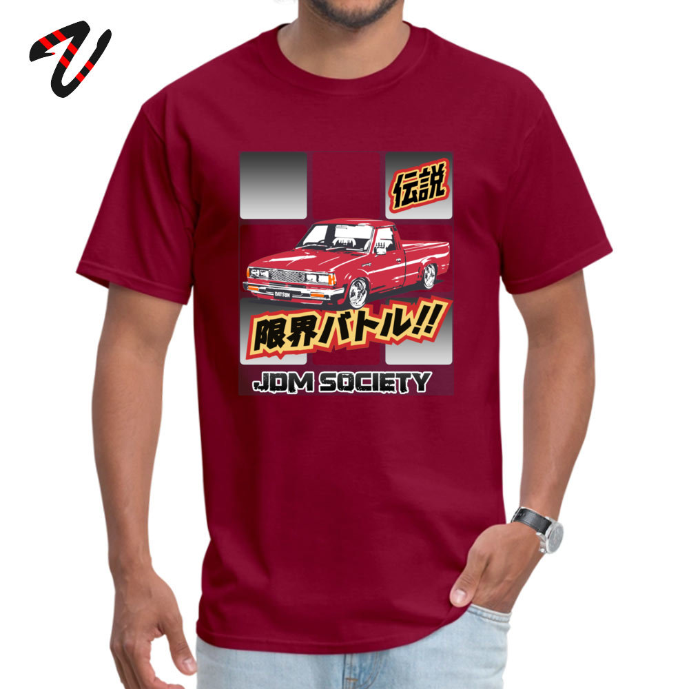 Men T-shirts Datsun Leisure Tops Shirts All Cotton O-Neck Short Sleeve Hip hop Tee Shirt Lovers Day Free Shipping Datsun 720 3714 maroon